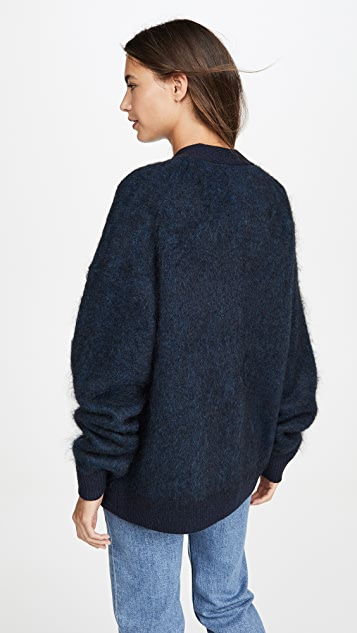 Acne Studios Rives 马海毛开襟衫