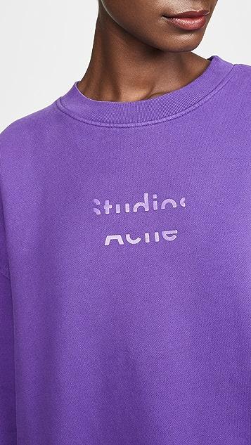 Acne Studios Fyono 徽标运动衫