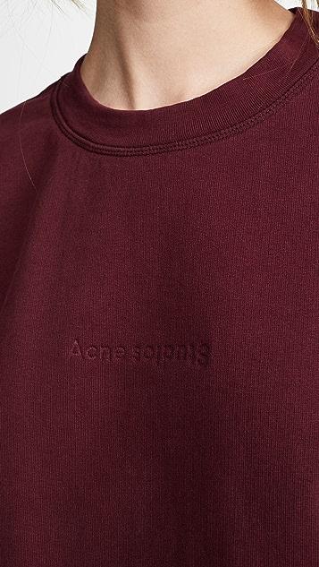 Acne Studios Odice 压纹运动衫