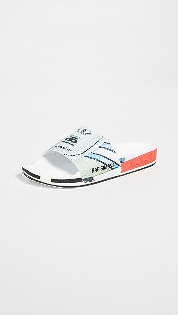 adidas Raf Simons Micro Adilette 凉拖鞋