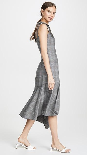 Adeam 束身方巾式连衣裙