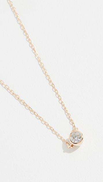 Adina Reyter 单钻石项链