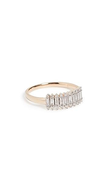 Adina Reyter 长方形层叠戒指