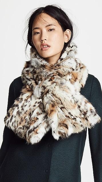 Adrienne Landau 皮毛围巾