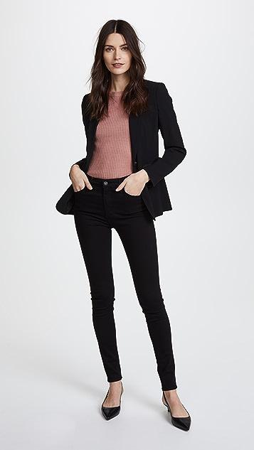 AG 超弹 Farrah 高腰牛仔裤