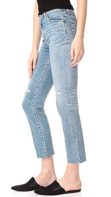 AG The Isabelle 直筒九分牛仔裤