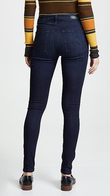 AG The Farrah 高腰紧身牛仔裤