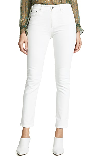 AG Mari 修身直筒牛仔裤