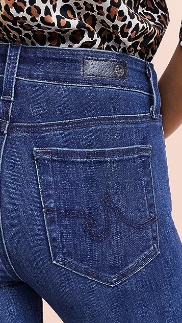 AG The Mari 高腰修身直脚牛仔裤