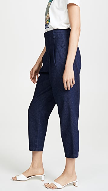 AG Yasmeen 裥褶裤