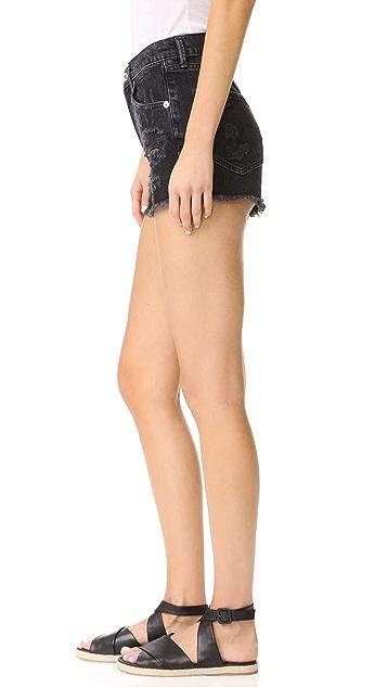 AGOLDE Jaden 高腰超短裤