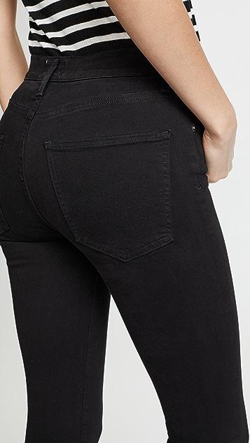 AGOLDE Sophie 高腰紧身九分牛仔裤
