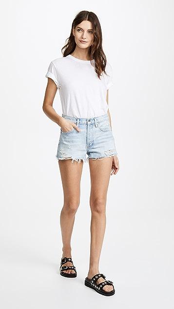 AGOLDE Parker 复古松垮版型超短裤