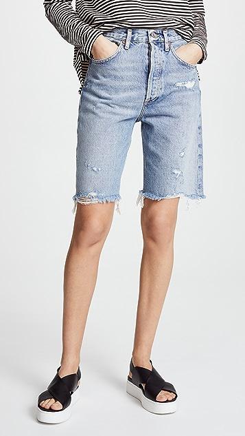 AGOLDE 90 年代复古风情短裤