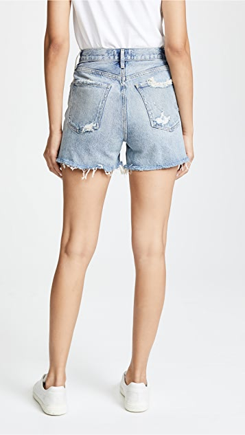 AGOLDE Dee Ultra 高腰短裤