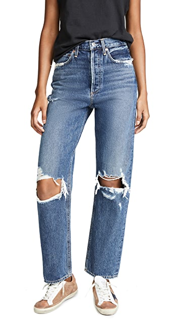 AGOLDE 90 年代复古牛仔裤