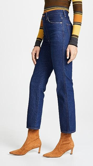 AGOLDE 收腰牛仔裤