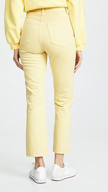 AGOLDE 高腰微喇牛仔裤