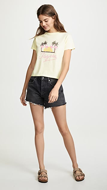 AGOLDE 火烈鸟 T 恤