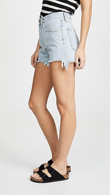 AGOLDE Ultra Dee 高腰短裤