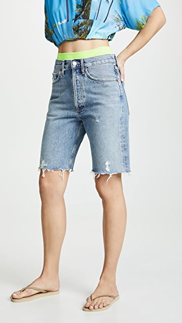 AGOLDE 中腰 90 年代复古风格宽松短裤
