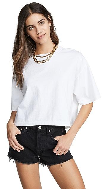 AGOLDE 直筒 T 恤