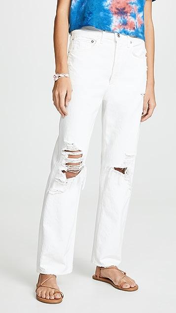 AGOLDE 90 年代复古风情牛仔裤