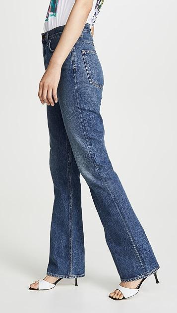 AGOLDE 复古喇叭牛仔裤