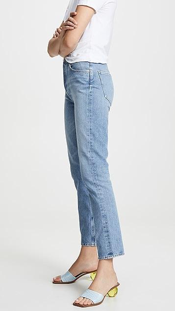 AGOLDE Remy 高腰直脚牛仔裤