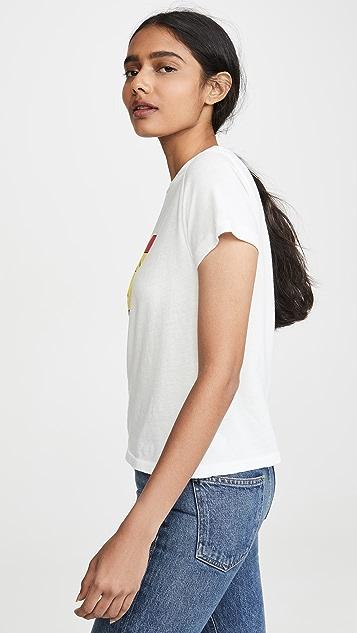 AGOLDE I Hate Lémondays Baby T 恤