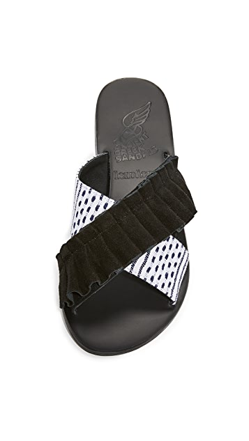 Ancient Greek Sandals Ancient Greek Sandals x Lem Lem Thais Frils 凉拖鞋