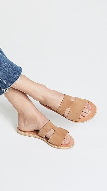 Ancient Greek Sandals Apteros 无跟便鞋