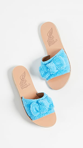 Ancient Greek Sandals Taygete 蝴蝶结无跟便鞋