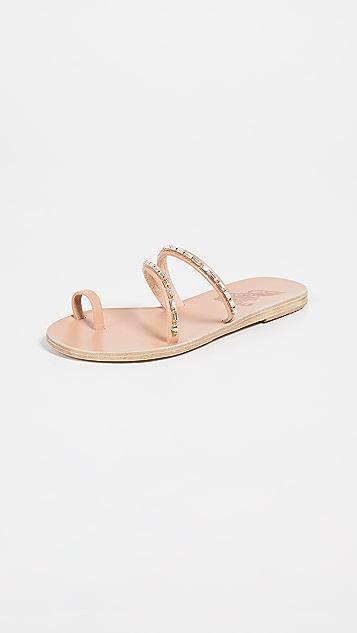 Ancient Greek Sandals Apli Katia 菱形拖鞋