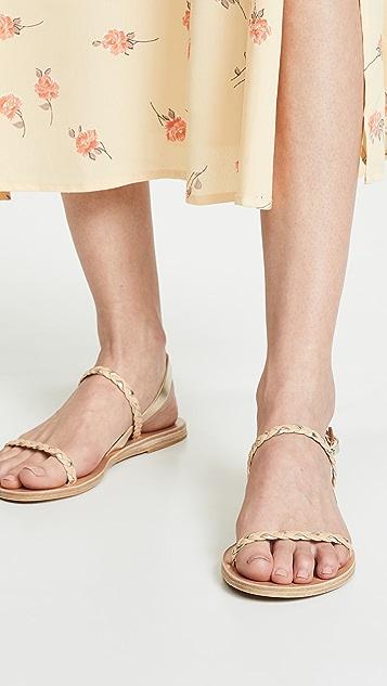 Ancient Greek Sandals Irida Braids 凉鞋