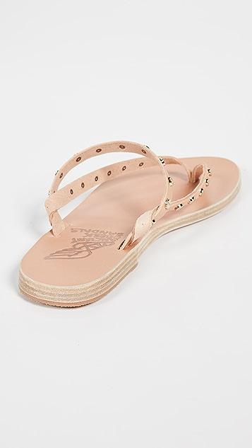 Ancient Greek Sandals Mirsini Nails 夹趾凉鞋