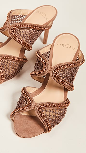 Alexandre Birman 75mm Amanda 穆勒鞋