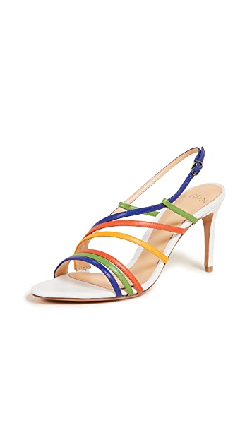 Alexandre Birman 75mm 系带凉鞋