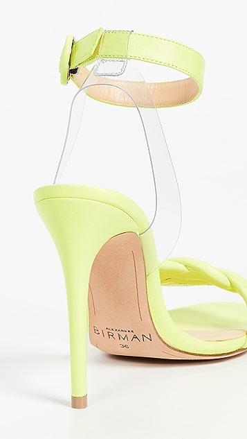 Alexandre Birman Vicky Vinyl 100mm 凉鞋