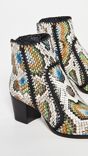 Alexandre Birman Benta 蟒蛇纹靴子