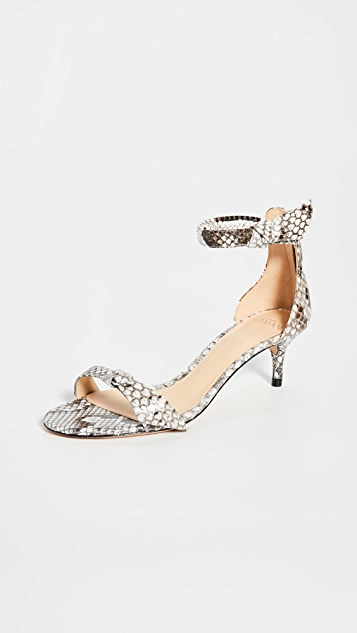 Alexandre Birman 不对称 Clarita 50 Exotic 凉鞋