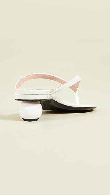 Alchimia di Ballin Vernice 夹趾凉鞋