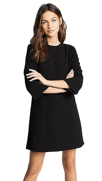 alice + olivia Gem 七分袖直筒连衣裙