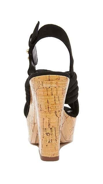 alice + olivia Charlize 厚底凉鞋