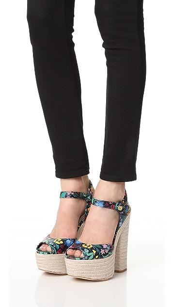 alice + olivia Gwenn 厚底凉鞋