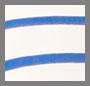 米白色/蓝色