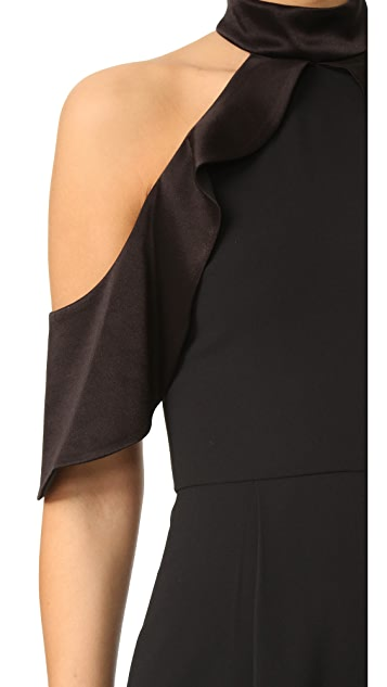 alice + olivia Roseline 露肩短款连身衣