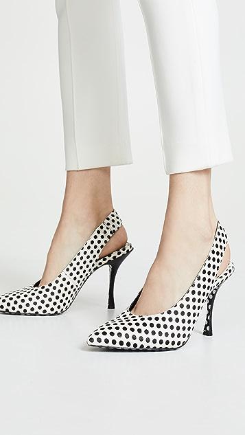 alice + olivia Innet 露跟浅口鞋