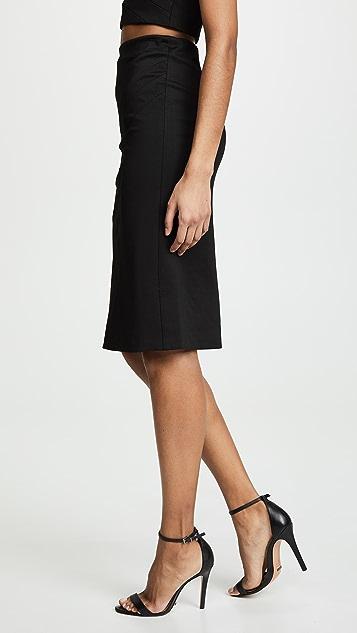 alice + olivia Lavana 褶皱铅笔裙