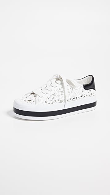 alice + olivia Emersyn 蕾丝运动鞋